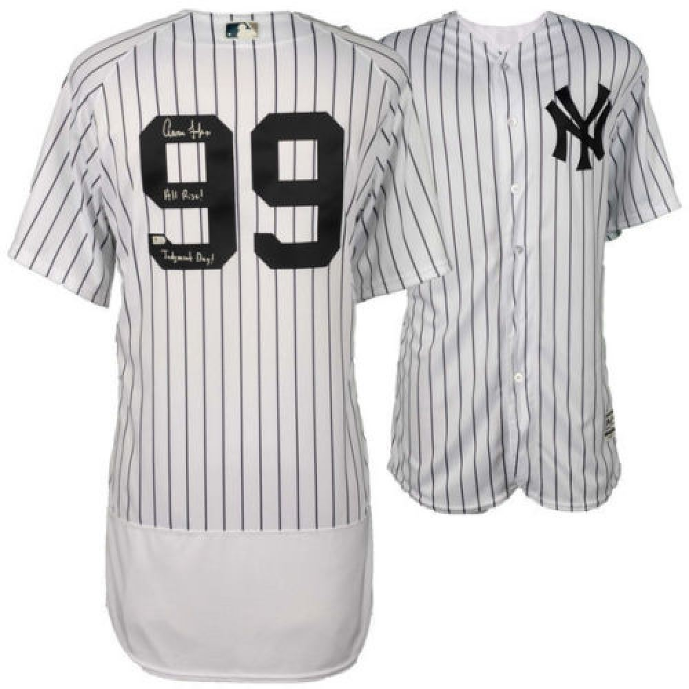 5ad2bd3c2 Image 1   Aaron Judge Signed LE Authentic Yankees Jersey Inscribed