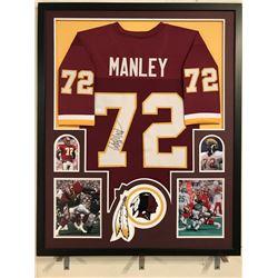 half off 74c84 a99a9 Dexter Manley Signed Redskins 34x42 Custom Framed ...