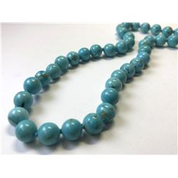 MAGNET CLASP TURQUOISE NECKLACE