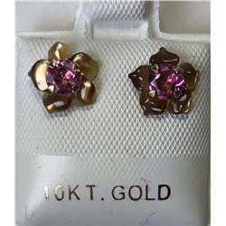 10kt GOLD TOURMALINE 2-in-1 MOTHER