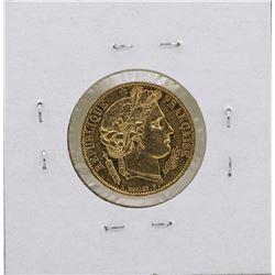 1850 France 20 Francs Gold Ceres Coin