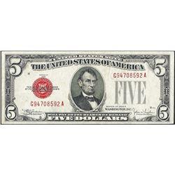 1928E $5 Legal Tender Note
