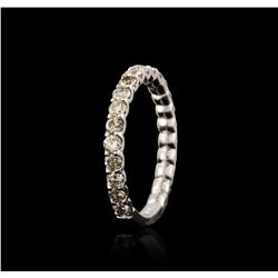 14KT White Gold 1.07 ctw Diamond Ring