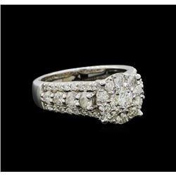 2.13 ctw Diamond Ring - 14KT White Gold