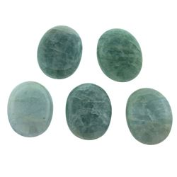 63.12 ctw Oval Cut Oval Cabochon Cut Natural Aquamarine Parcel