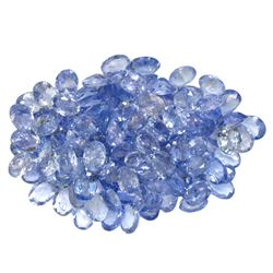 19.43 ctw Oval Mixed Tanzanite Parcel