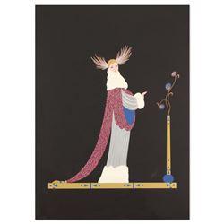 Ermine Brocade by Erte (1892-1990)