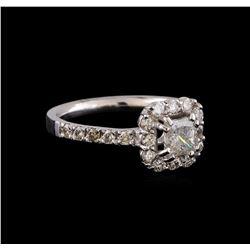 1.43 ctw Diamond Ring - 14KT White Gold