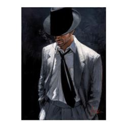 Man in White Suit IV by Perez, Fabian