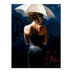 Woman with White Umbrella III by Perez, Fabian
