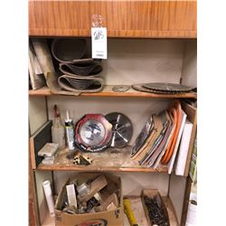 Shelving lot (saw Blades)