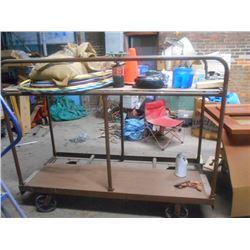 4 Wheel Shop Cart