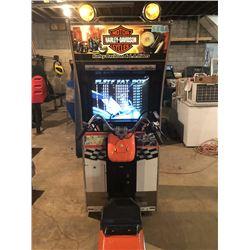 Sega Harley Davidson Riding Arcade Game