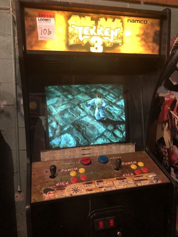 Namco Tekken 3 Fighting Arcade Game