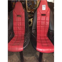 Gaming Style High Bar Stool Chairs