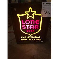 Lonestar Light Up Beer Sign