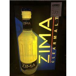 Zima Light Up Sign
