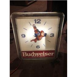 Budweiser King of Beers Clock