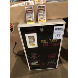 Tekbilt Pull Tab Ticket Machine w/ Tickets