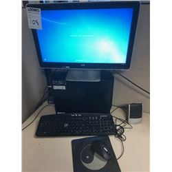 BUNDLE LOT: 2 HP Monitors, 2 E-machines Towers, 2Keyboards, 2 Mouse, 1 Speaker