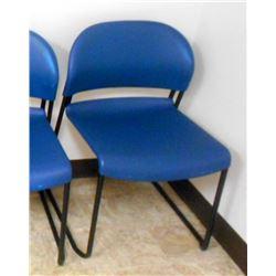 Heavy Duty Resin  Office Chair, Metal Frame
