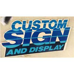 WOOD CUSTOM SIGNS / SIGN
