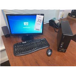 E-machines Tower & Monitor, Kinya Speakers, Microsoft Keyboard, Logitech Mouse