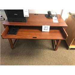 Office Desk w/ Slide Out Drawer