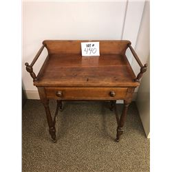 Antique One Drawer Table