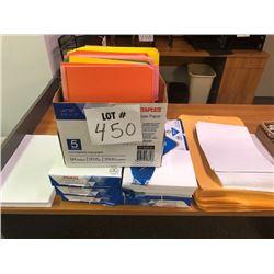 Staples Multi-Purpose Paper, Color Folders, Jumbo Envelopes
