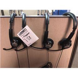 Logitech Headsets (4) LOC #1