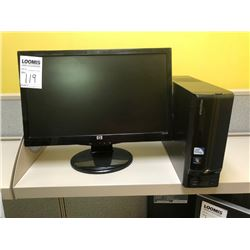 BUNDLE LOT LOC #1: HP Monitor, Dell Monitor, 2 E-machines Towers, Mouse, Keyboard