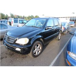 2003 Mercedes-Benz ML350