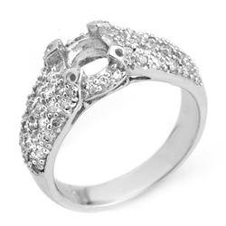 0.75 CTW Certified VS/SI Diamond Ring 18K White Gold - REF-81M3H - 10397