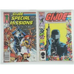 Lot (2) GI JOE Comic Books Estate.