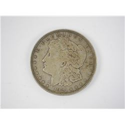 1921 USA Silver Morgan Dollar.