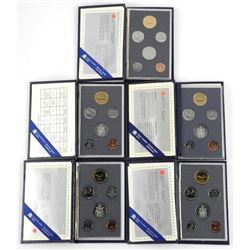 Lot (5) Specimen Coin Set.