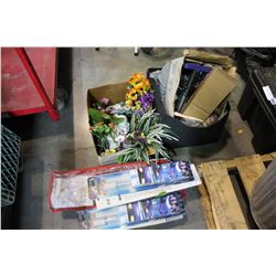 ARTIFICIAL FLOWERS AND ESTATE GOODS
