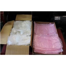2 BOXES OF BUBBLE BAGS