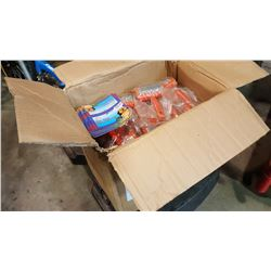 BOX OF PET BRUSHES