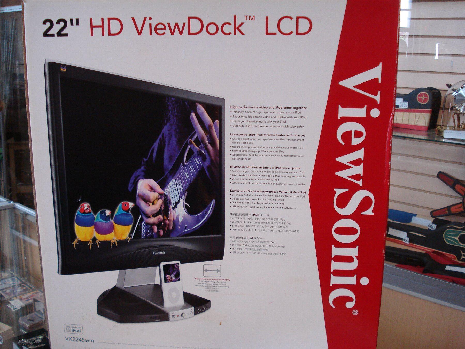 VIEWSONIC 22 INCH HD VIEW DOCK