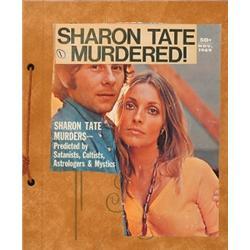 Sharon Tate Murder Trial Scrap Books], A group of 30 scrap