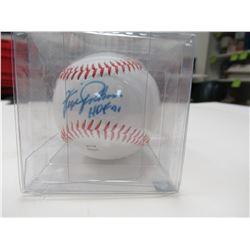 Signed Fergie Jenkins baseball