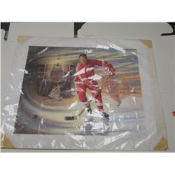 Mr. Hockey Gordie Howe lithograph 538/9999
