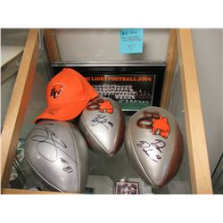 BC Lions Collectibles & Signatures
