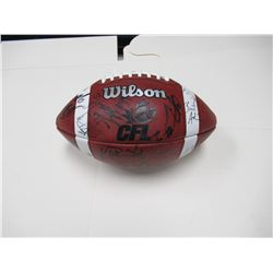 Official Game Ball signed by all BC Lions