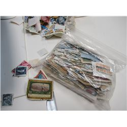 Bin of Used Stamps