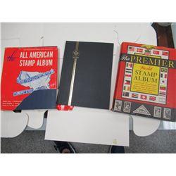 3 Stamp Albums