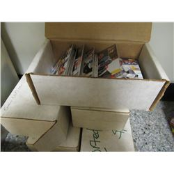 5 Boxes of Mixed 1990s Cards