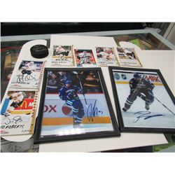 Lot of Canuck's Autographs
